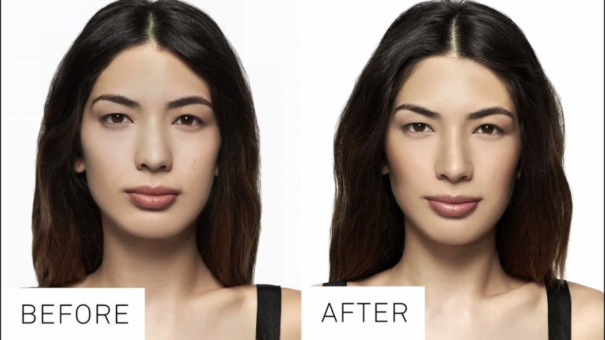How to contour Oval Face Shape