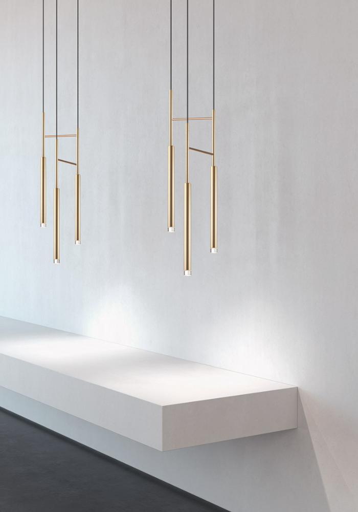 Lampara Cadle de LedsC4 Colgante 3 luces LED Grok