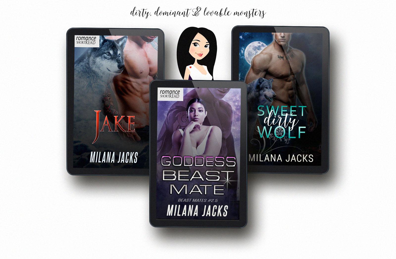 milana jacks, dark dirty romance, monster romance, paranormal romance, free ebooks