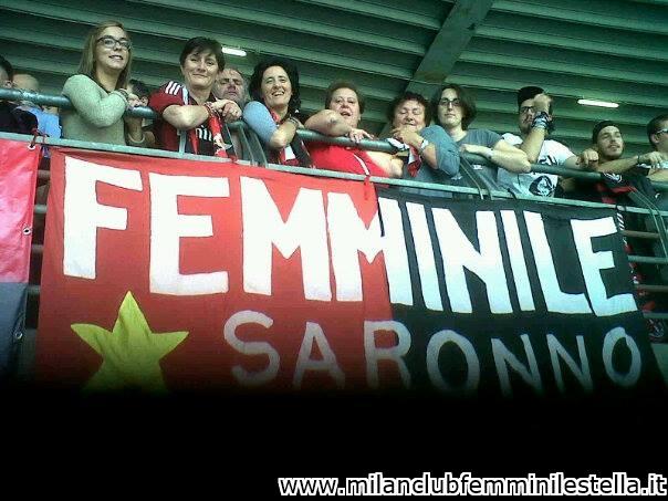 VeronaMilan  Milan Club Femminile Stella Saronno