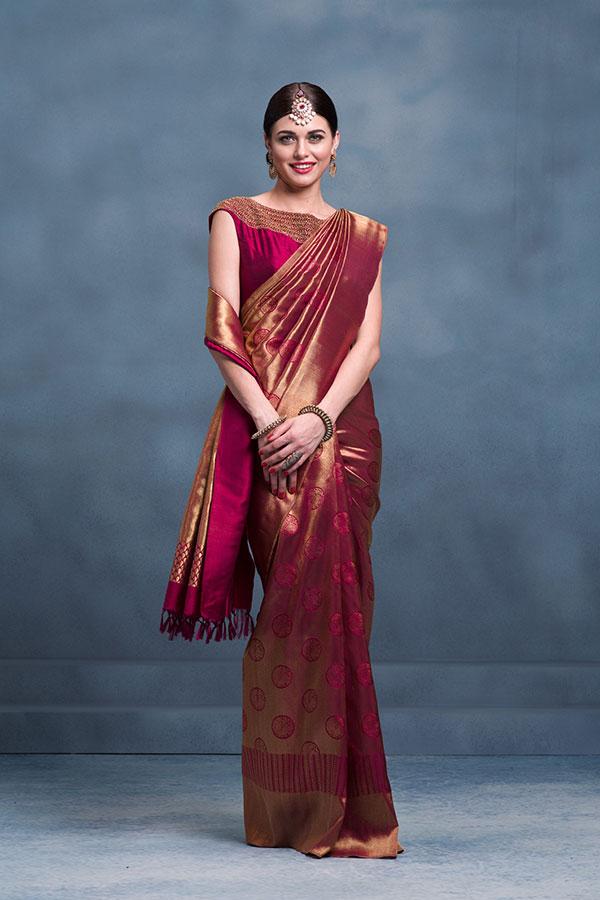 Gallery Kanchipuram Sarees Milan Design