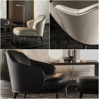 Italian Furniture brands ideas: Minotti introduces LESLIE ...