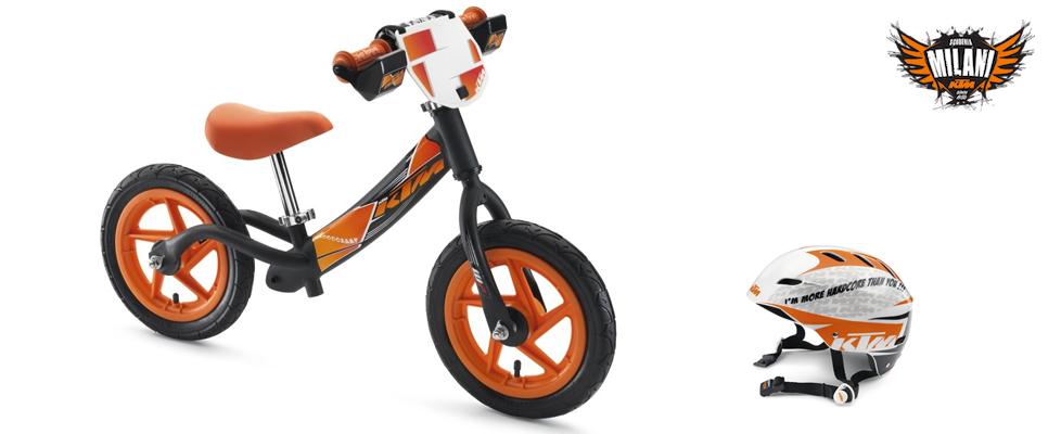 Prebike KTM senza pedali