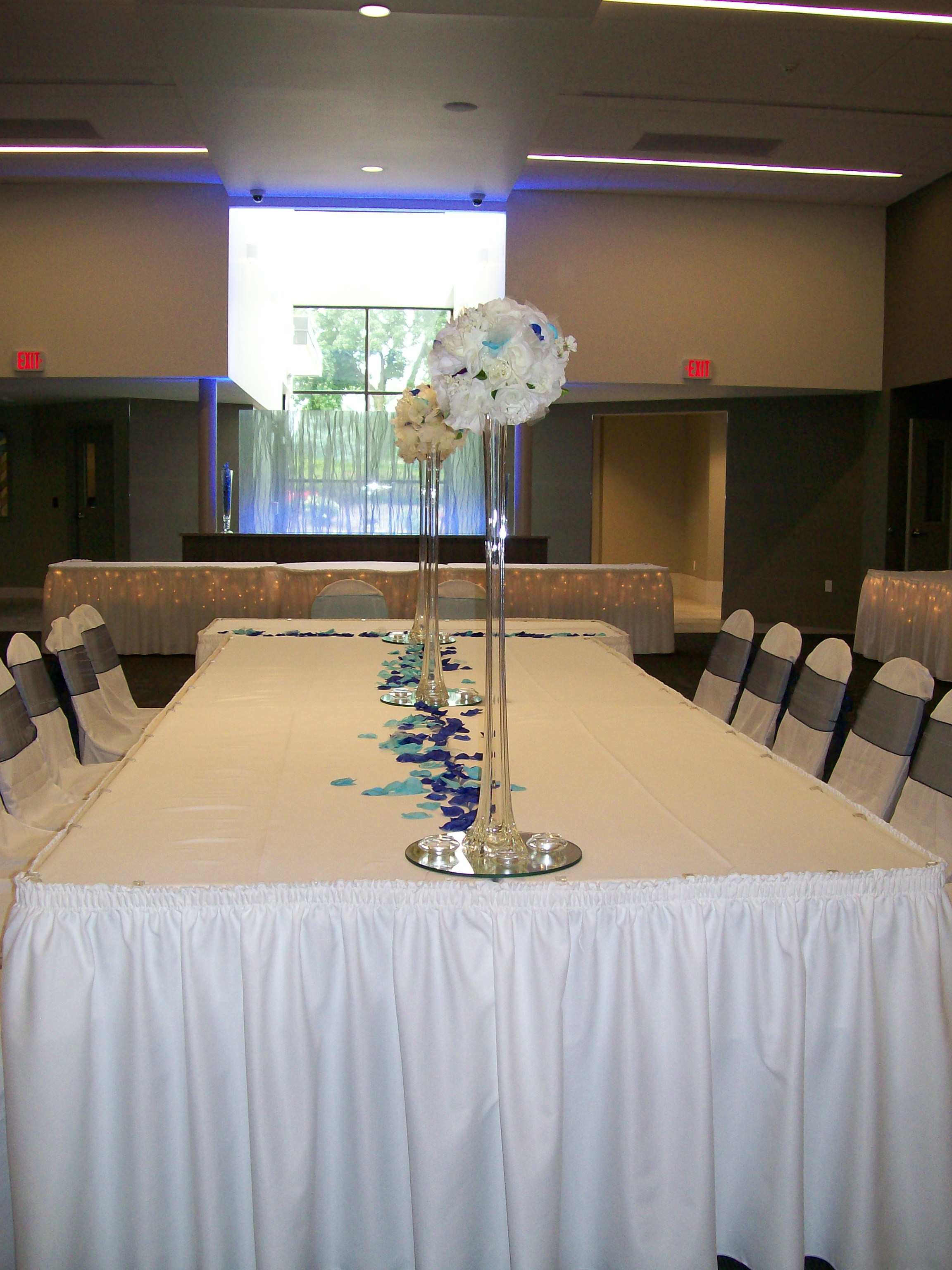 chair cover rentals quad cities covers victoria bc community center village of milan facility photos