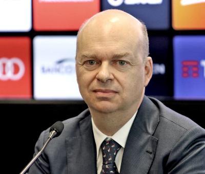 L'amministratore delegato del Milan, Marco Fassone