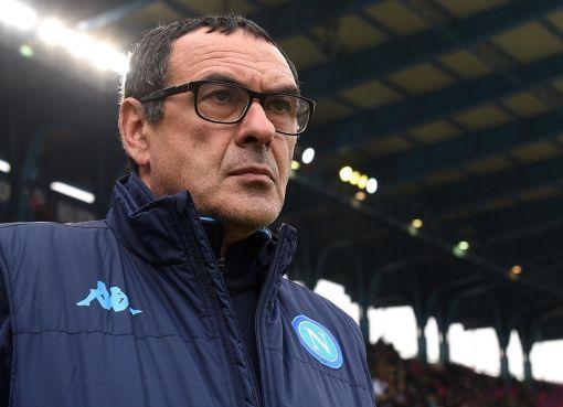 L'allenatore del Napoli, Maurizio Sarri