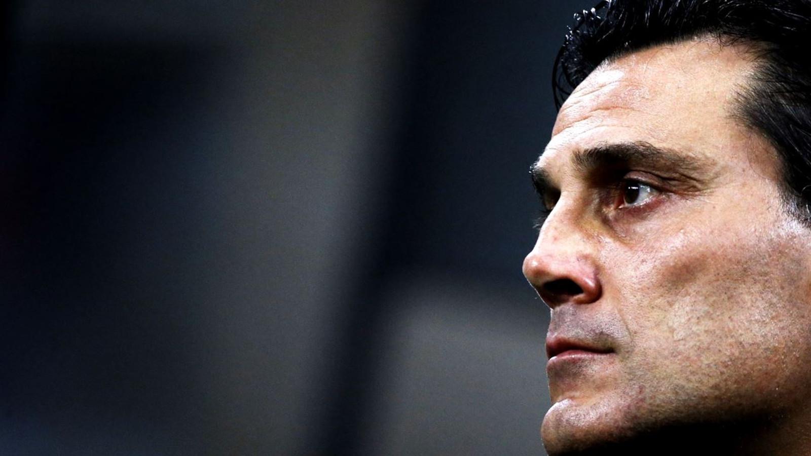 Esonerato Montella da allenatore del Milan