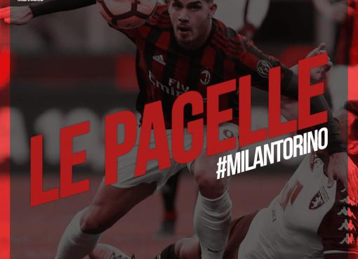 Le pagelle di Milan-Torino, quattordicesima giornata di Serie A 2017/2018 terminata sul risultato di 0-0