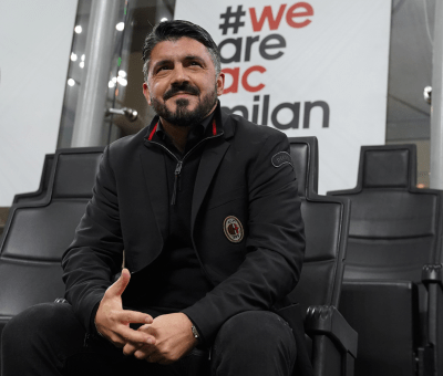 Gennaro Gattuso durante Milan-Bologna di Serie A