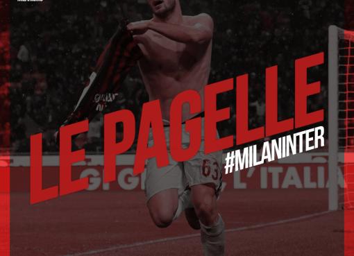 Le pagelle di Milan-Inter, derby di Coppa Italia 2017/2018 terminato sul risultato di 1-0