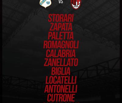 La formazione ufficiale scelta da Gattuso per Rijeka-Milan, ultima giornata di Europa League