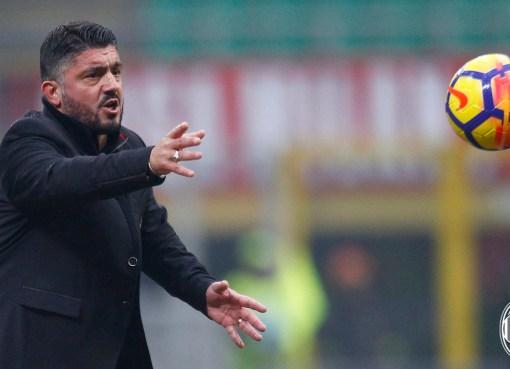 Gennaro Gattuso durante Milan-Crotone