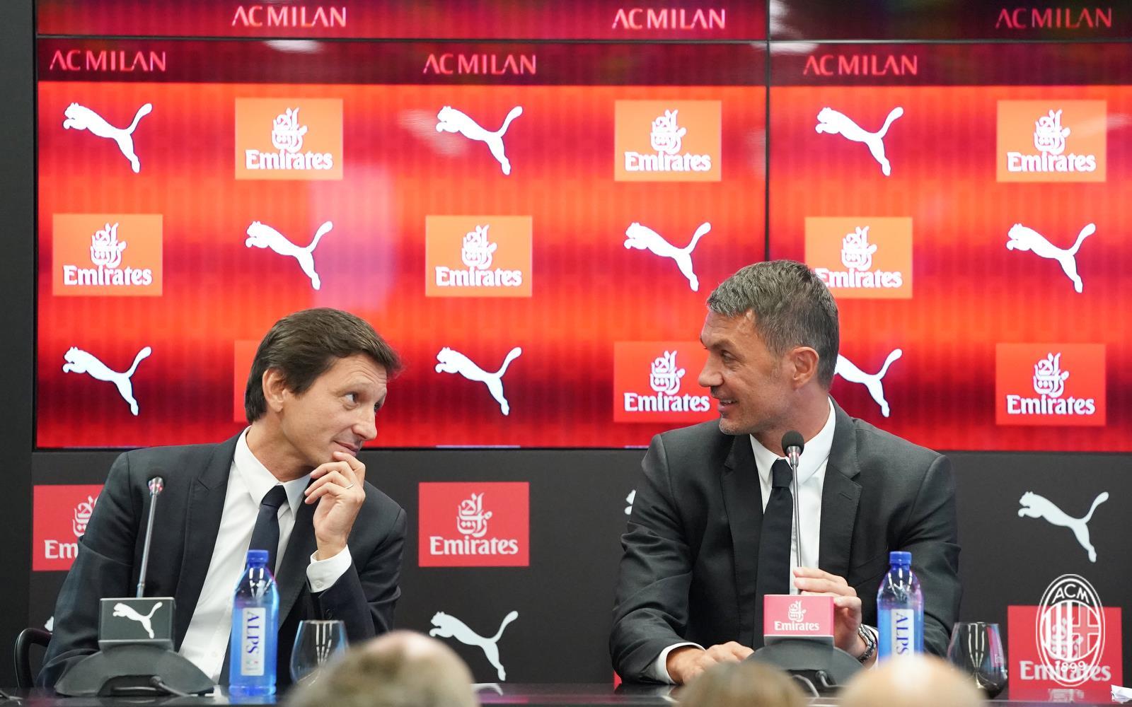Leonardo e Paolo Maldini.