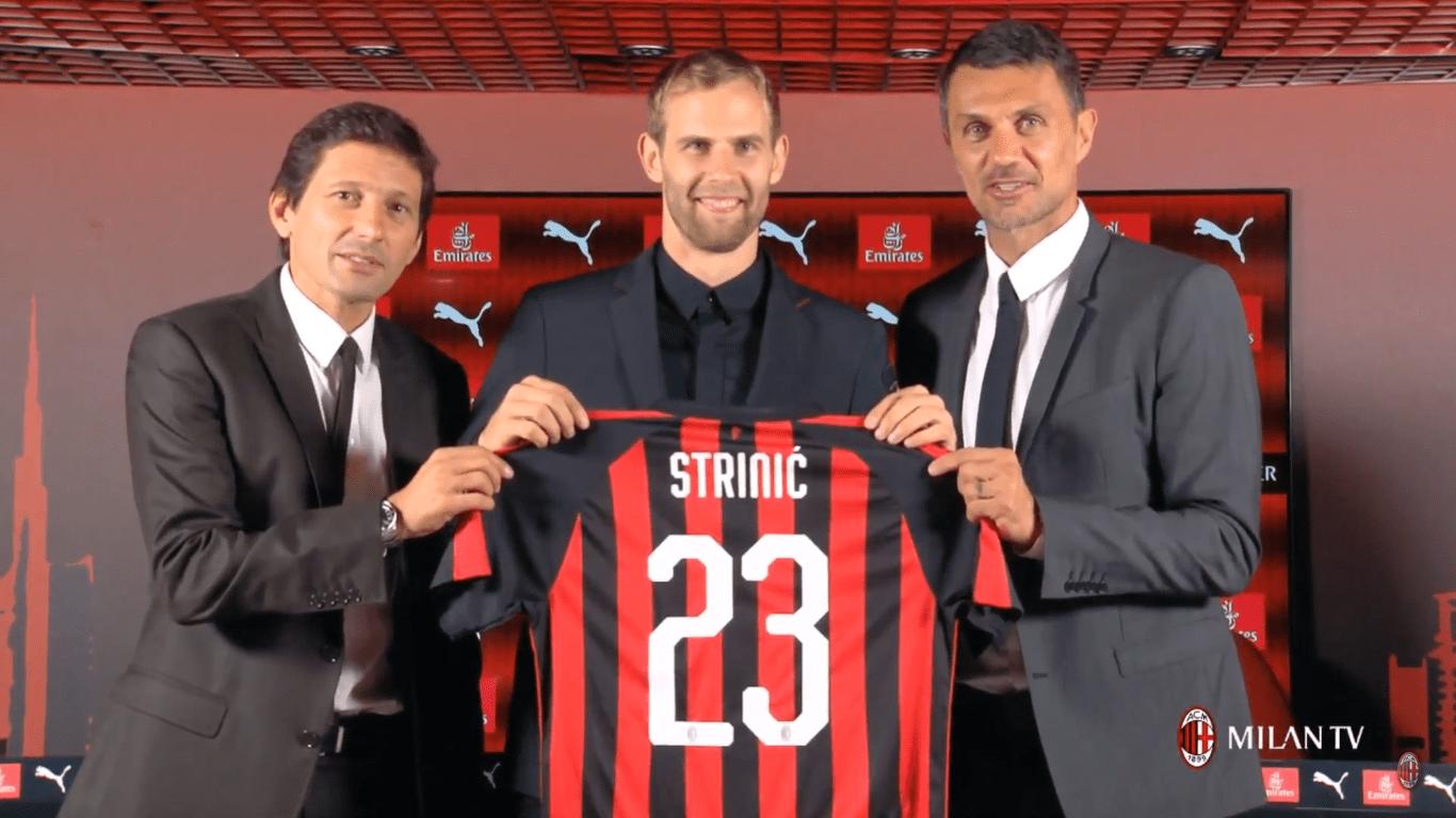 Seconda Maglia AC Milan IVAN STRINIC