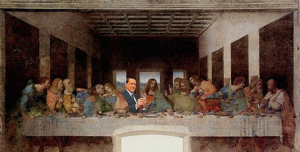 una-metaforica-ultima-cena-ma-berlusconi-non-e-gesu-foto-da-flickr
