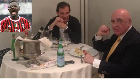 Allegri, Galliani e la pippa