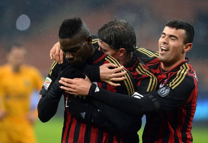720p-AC Milan v Hellas Verona FC – Mario Balotelli