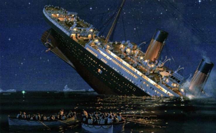 Titanic-naufragio
