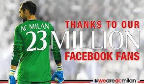 23 milioni di fans