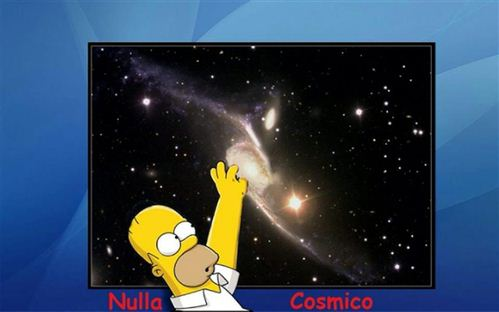 nulla cosmico