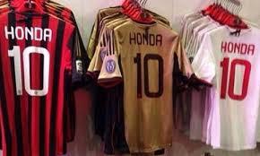 maglia di Honda