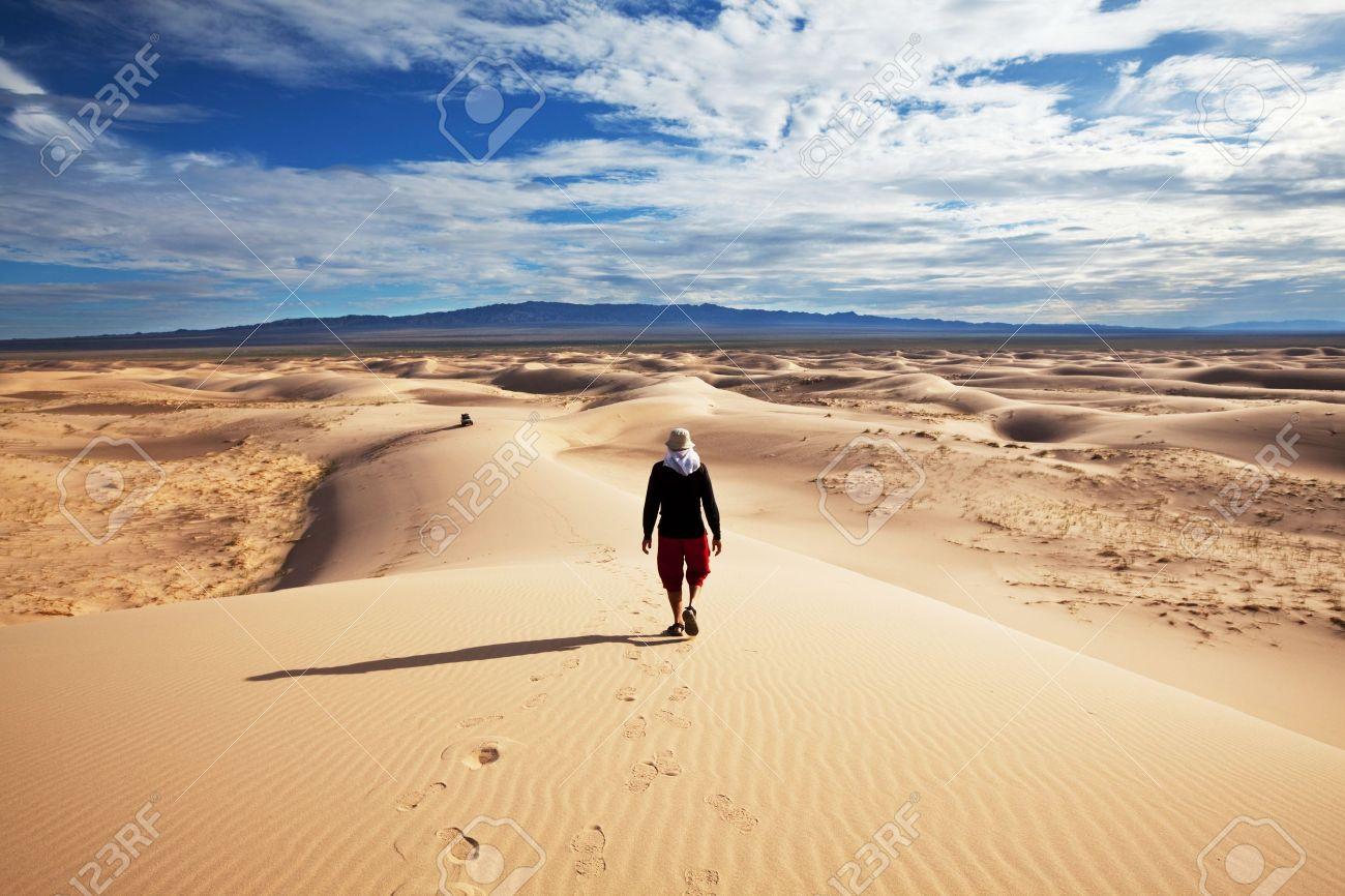 8964653-Escursione-nel-deserto-del-Gobi-Archivio-Fotografico