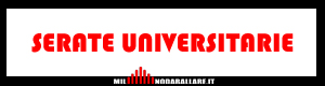 Serate UNIVERSITARIE