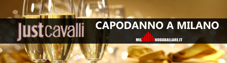 Just Cavalli Milano Capodanno 2018