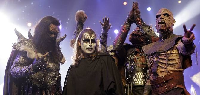 Lordi live all'Alcatraz