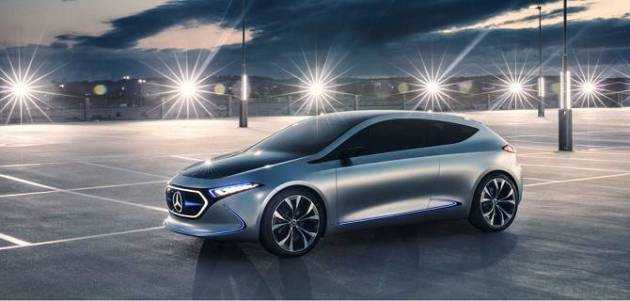 Il concept car Mercedes EQA