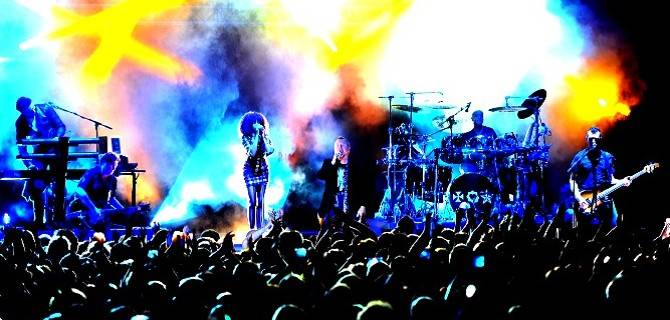 I Simple Minds in concerto