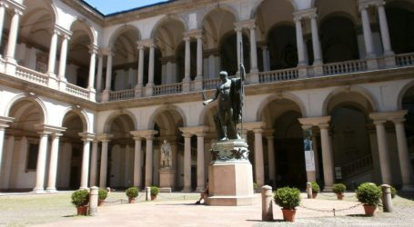 La Pinacoteca di Brera a Milano