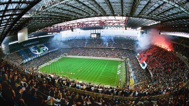 дербито на милано - атмосфера на стадиона