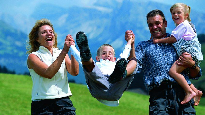 Le vacanze in montagna per le famiglie