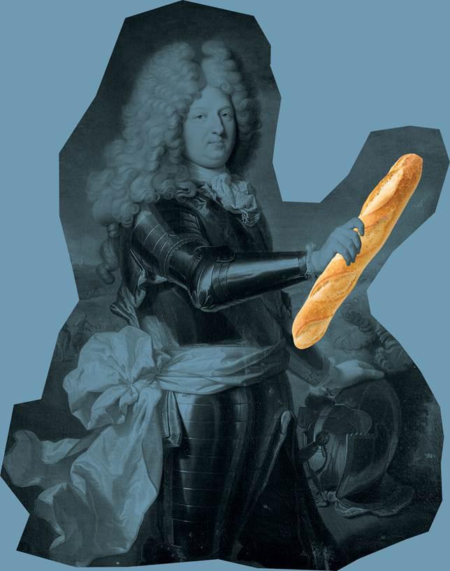 Grafica ironica della nuova boulangerie francese di Via Melzo