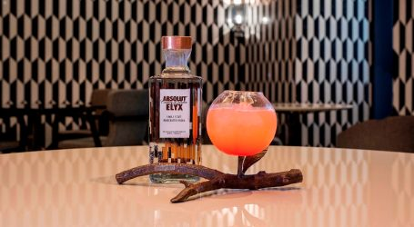 MOre Peach by Absolut Elyx con Mandarin Oriental