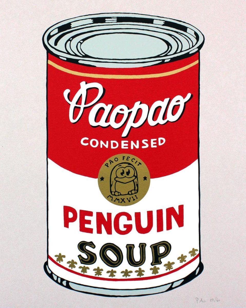 PaoPao, la versione dell'artista Pao del Campbell di Andy Warhol