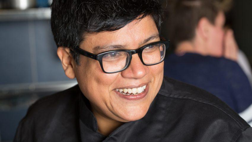 Un ritratto della chef Ritu Dalmia