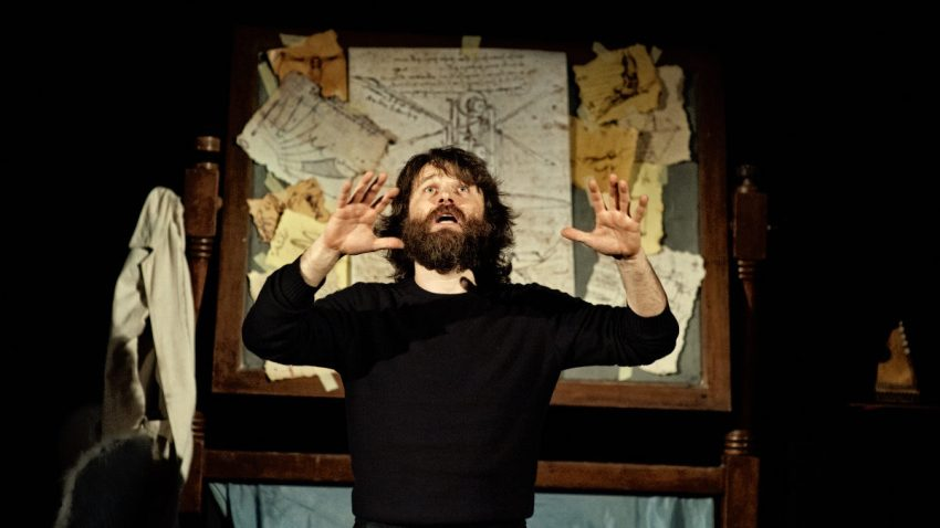 """""""Il volo di Leonardo"""" Piccolo Teatro. Ph. Attilio Marasco"""