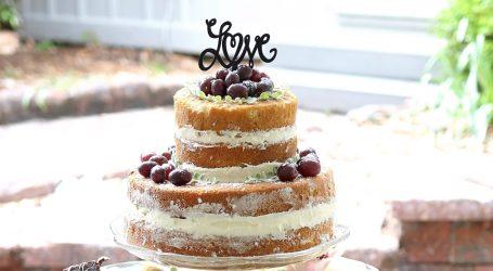 Matrimonio country chic: le 10 regole per la torta ideale