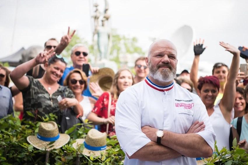 Lo chef Philippe Etchebest è stata la Guest star dell'edizione 2018 del festival internazionale della gastronomia di Mougins