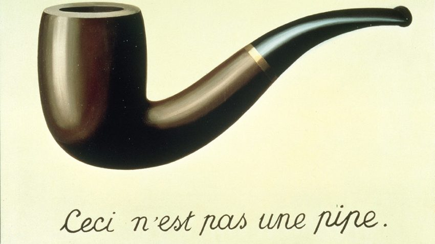 Magritte, Il tradimento delle immagini