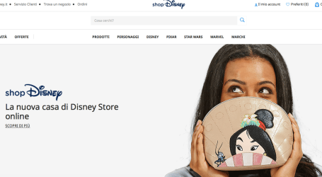 Nasce shop Disney, l'e-commerce perfetto per chi è rimasto bambino (anche dentro)
