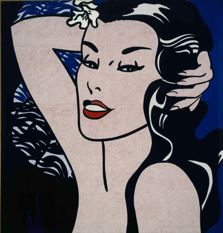 Roy Lichtenstein, Little Aloha, 1962 @ Estate of Roy Lichtenstein, by SIAE 2018