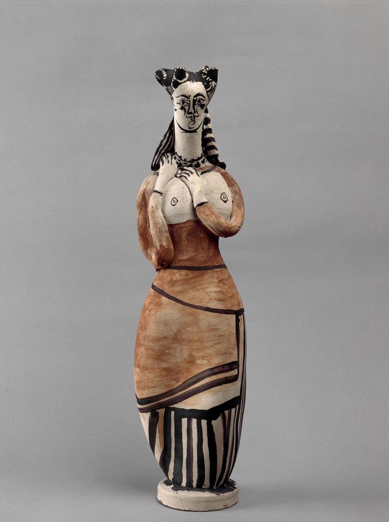 Picasso, Donna con mantiglia. Paris, Musée National Picasso