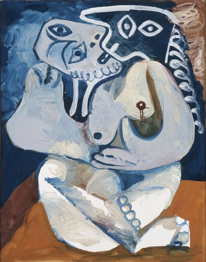 Picasso, L'Abbraccio. Paris, Musée Picasso