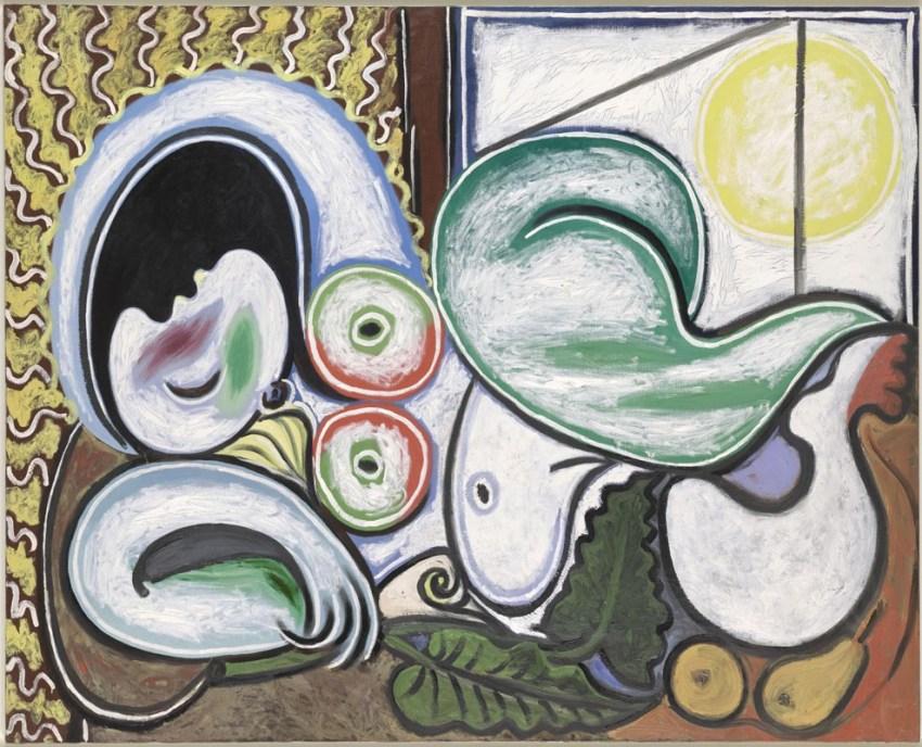 Picasso, Nudo disteso. Bruxelles, Palais des Beaux Arts