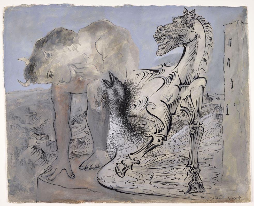 Picasso, Fauno, cavallo e uccello. Paris, Musée National Picasso
