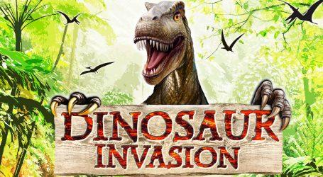 Vieni a scoprire l'invasione dei dinosauri alla Fabbrica del Vapore