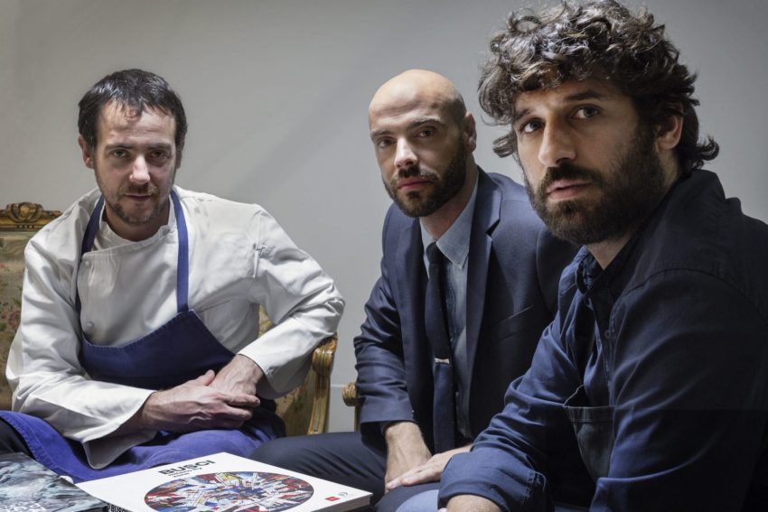 I tre di Contraste: Matias Perdomo, Simon Press e Thomas Piras